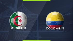 ویدئو خلاصه بازی الجزایر 3 - کلمبیا 0