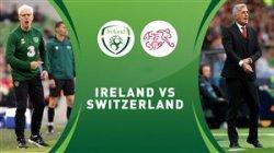 خلاصه بازی سوئیس 2 - جمهوری ایرلند 0
