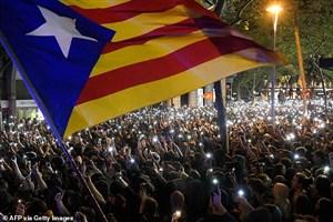 دردسر بزرگ تظاهرات کاتالونیا برای بارسلونا