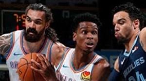 خلاصه بسکتبال ممفیس گریزلیز - اوکلاهاماسیتی