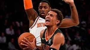 خلاصه بسکتبال آتلانتا هاوکس - نیویورک نیکس