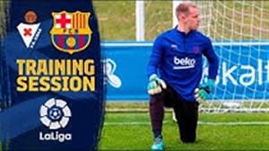 تمرین بارسلونا تحت هدایت والورده