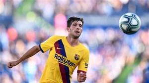 مصدومیت مدافع بارسلونا در ایپوروئا