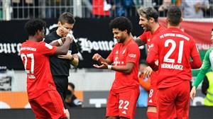 آگزبورگ 2-2 بایرن؛ سه امتیاز دقیقه 91 پرید
