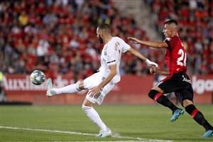 مایورکا 1-0 رئال: ویروس فیفا تیم زیدان را زمینگیر کرد