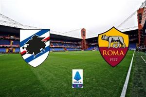 خلاصه بازی سمپدوریا 0 - آاس رم 0