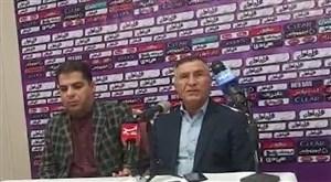 کنفرانس خبری مجید جلالی قبل از بازی سپاهان