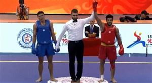 پیروزی سیفی در نخستین مبارزه مسابقات ووشوی قهرمانی جهان