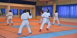 اردوی آمادهسازی تیم ملی کاراته بانوان برپا میشود