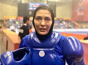 پیام الهه منصوریان پس از قهرمانی در مسابقات ووشو