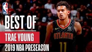 برترین حرکات تری یانگ در رقابت های پیش فصل NBA