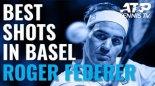 برترین ضربات راجر فدرر در مسابقات تنیس بازل