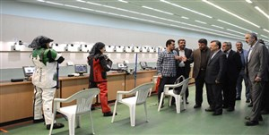بازدید 2 معاون وزیر از اردوی تیراندازی