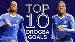 10 گل برتر دروگبا در لیگ قهرمانان اروپا با لباس چلسی