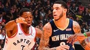 خلاصه بسکتبال نیواورلینز - تورنتو رپترز