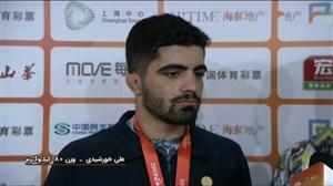صحبت های علی خورشیدی پس از کسب مدال طلا