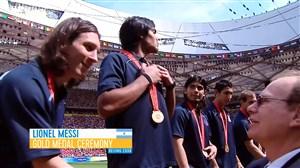 بهترین لحظات لیونل مسی در المپیک