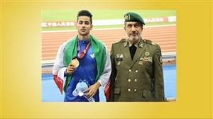 پنج مدال سهم نظامیان ایران در مسابقات جهانی