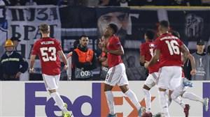 پیروزی ضعیف یونایتد در بازی بیهیجان بلگراد