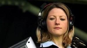 اولین گزارش فوتبال توسط یک زن