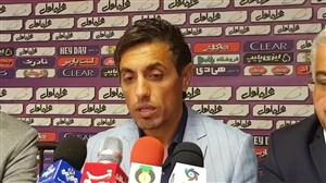 کنفرانس خبری خطیبی بعد از بازی با نفت مسجد سلیمان