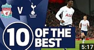 10 گل برتر تاتنهام در مقابل لیورپول