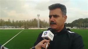 پورموسوی:اگر بازیکنان اصلی استقلال بودند، برای ما بهتر بود