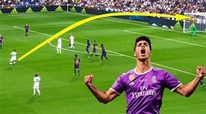 گلها و مهارتهای آسنسیو در رئال مادرید