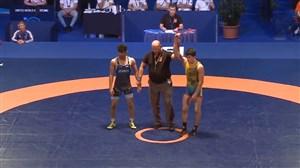 شکست سرلک مقابل حریف قزاقستانی وزن (57 کیلوگرم)