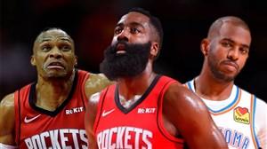 خلاصه بسکتبال هیوستون راکتس - اوکلاهاماسیتی