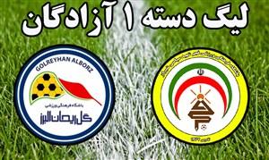 خلاصه بازی فجرسپاسی 0 - 0 گل ریحان البرز