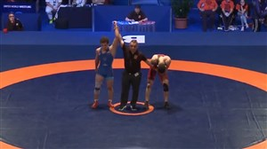 کسب مدال نقره توسط نخودی (وزن 74 کیلوگرم)