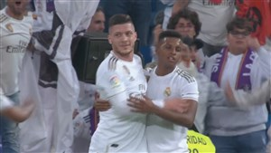 گل پنجم رئال مادرید به لگانس توسط یوویچ