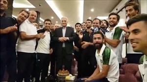 جشن تولد در اردوی ماشین سازی