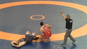 پیروزی نفسگیر یوسفی در نیمه نهایی وزن 130 کیلو