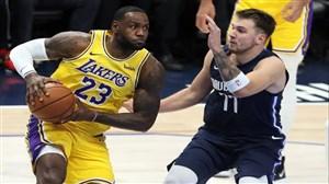 خلاصه بسکتبال دالاس ماوریکس - لس آنجلس لیکرز