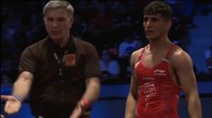 کسب مدال طلا توسط میثم دلخانی در فینال63کیلو