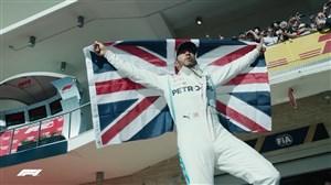 لوییس همیلتون ششمین قهرمانی جهانش  را جشن گرفت