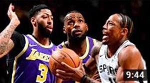 خلاصه بسکتبال سن آنتونیو -لس آنجلس لیکرز