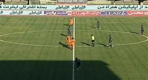 خلاصه بازی مس کرمان 2 - بادران 1 (لیگ یک)