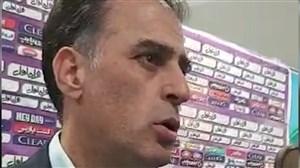 آذری: دو صحنه مشکوک پنالتی هم برای ما بود