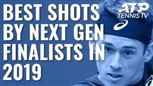 فینالیستهای نسل بعدی در مسابقات تنیس 2019