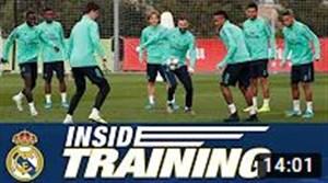 تمرین امروز رئال مادرید (14-08-98)