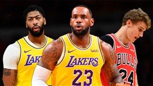 خلاصه بسکتبال لس آنجلس لیکرز - شیکاگو بولز