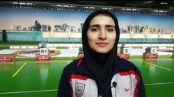 صحبتهای هانیه رستمیان پس از کسب سهمیه المپیک