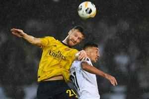 خلاصه بازی ویتوریا 1 - 1 آرسنال(یورو لیگ)