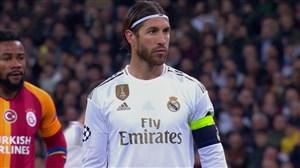 گل سوم رئال مادرید به گالاتاسارای(راموس-پنالتی)
