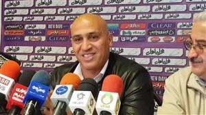 نشست خبری علیرضا منصوریان قبل از بازی با ماشین سازی