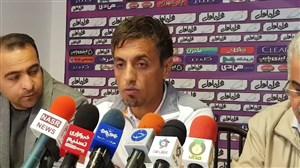 نشست خبری رسول خطیبی قبل از بازی با ذوب آهن