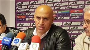 نشست خبری علیرضا منصوریان پس از بازی